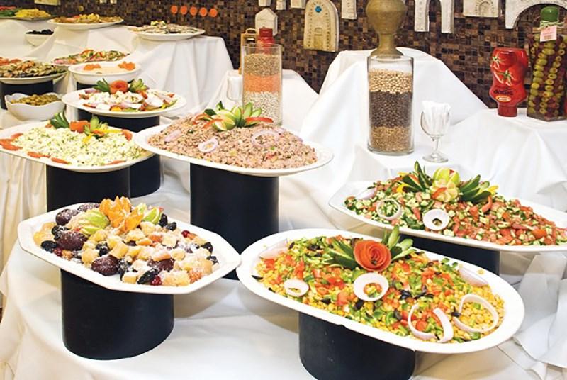 Grand Beach Tel Aviv - dinner