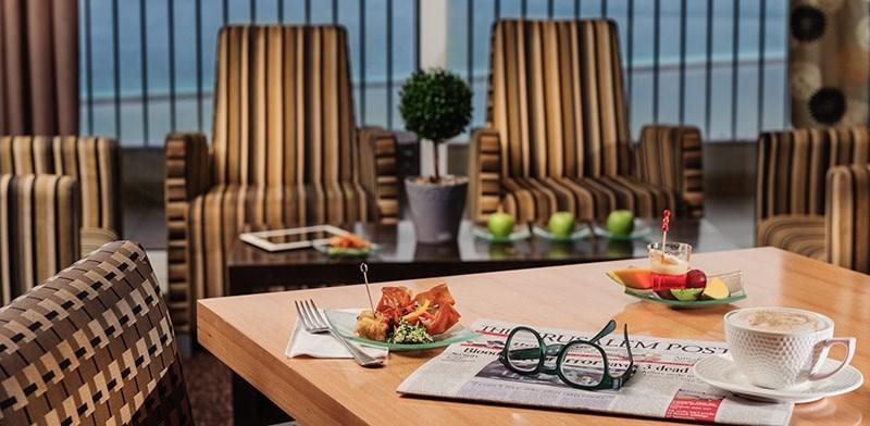 Business lounge -David Dead Sea Resort