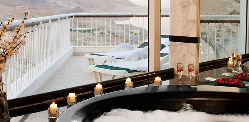 Jacuzzi in  David Dead Sea hotel