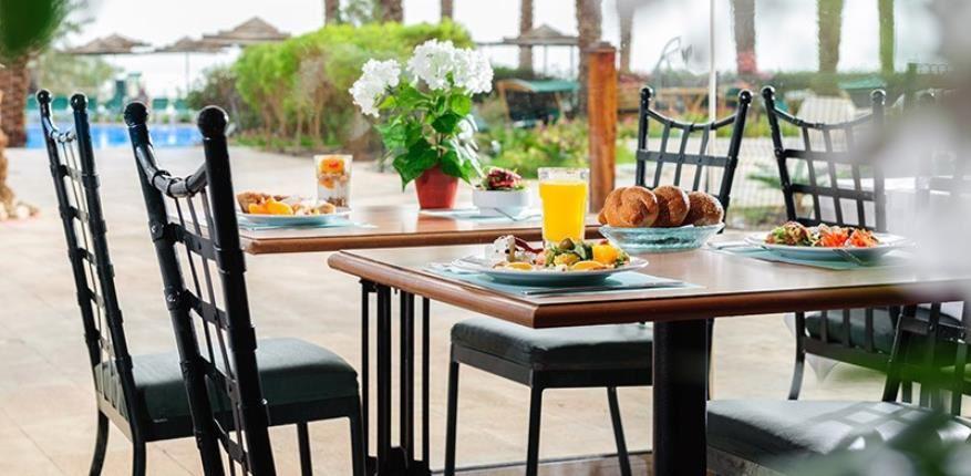 Breakfast in  David Dead Sea hotel