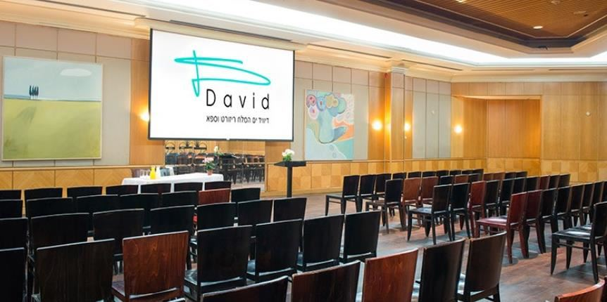 Events hall hotel in  David Dead Sea