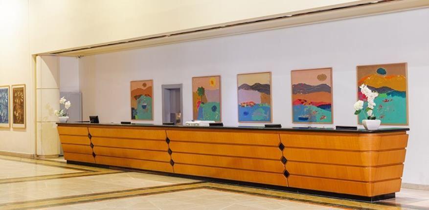 Reception area - David Dead Sea hotel