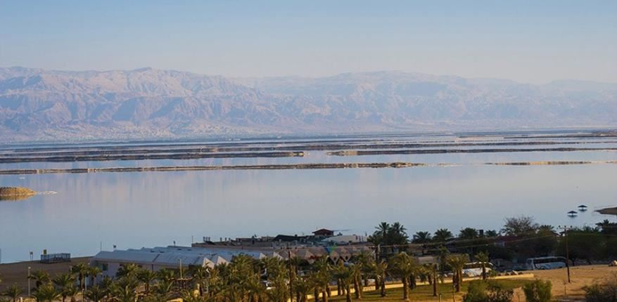 View from the hotel  David Dead Sea