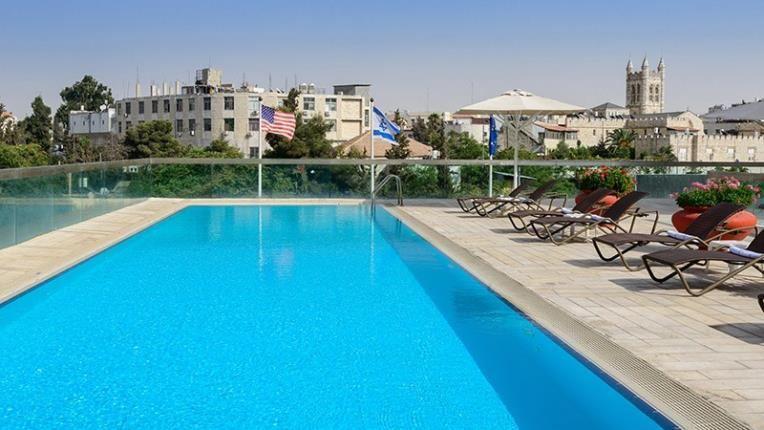 Grand Court Jerusalem - pool