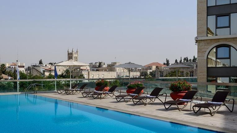 Pool in Grand Court Jerusalem